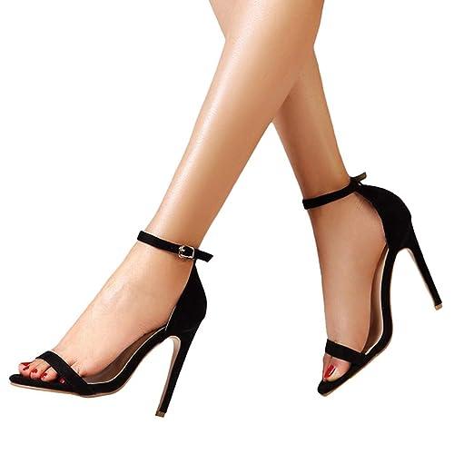 17bcb04dd Sandalias de tacón Alto de Boda Fiesta para Mujer