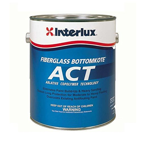 (Interlux Y669OU/QT ACT Antifouling Paint (Blue), 32. Fluid_Ounces )
