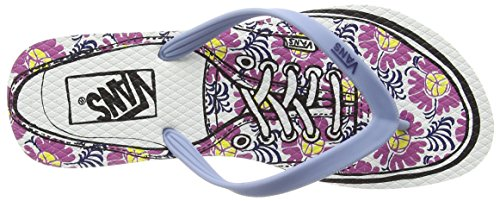 Vans Hanelei - Zapatillas Mujer Multicolor (authentic/faded Denim/ibis Rose)