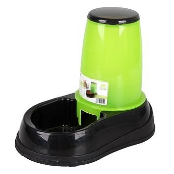 LIZHONGXUAN Alimentador Automático para Mascotas Dispensador De Agua para Perros Alimento para Perros Cuenco para Agua para Perros Gato Y Perro Alimentador ...