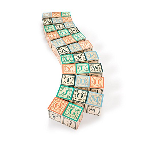 Uncle Goose Danish Blocks - Made in USA ()