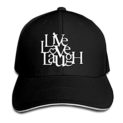 Women's/Men's Live Love Laugh Adult Adjustable Snapback Hats Trucker Cap