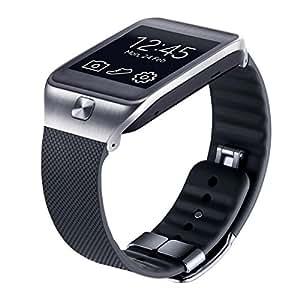 Samsung ET-SR380XBEGWW - Correa de tamaño grande para Samsung Galaxy Gear 2/Gear 2 Neo, negro