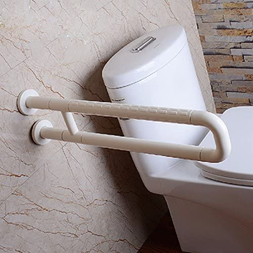 浴室用手すり お年寄りのトイレの滑り止めの手すりのステンレスの無障害の浴室の安全な手すりのトイレの障害者の手すり,白