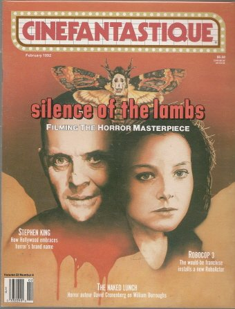 Cinefantastique Vol. 22 #4 / Silence of the Lambs, Robocop 3, Stephen King