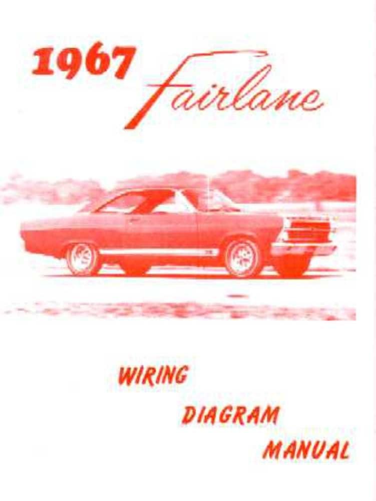 Amazon.com: bishko automotive literature 1967 Ford Fairlane Electrical Wiring  Diagrams Schematics Manual Book Factory OEM: AutomotiveAmazon.com