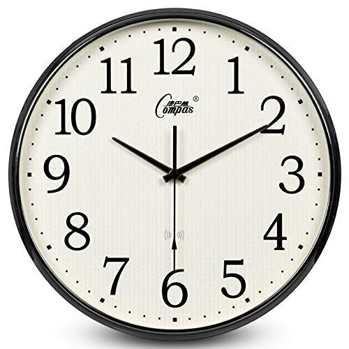 Reloj de radio de 16 pulgadas reloj de pared, sala de estar ...
