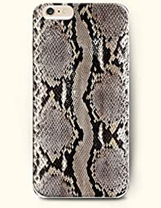 Dim Grey And Black Serpent Pattern - Snake Skin Print - Phone Cover for Apple iPhone 6 Plus ( 5.5 inches ) - SevenArc ...