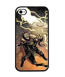 Iphone 4 Funda Case Thor Marvel Superhero Funda Case Cover Cute Cartoon Plastic Funda Case For Girls