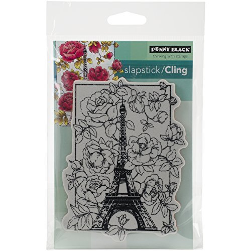 Penny Black 40383 April in Paris Slapstick Cling Stamp by Penny Black