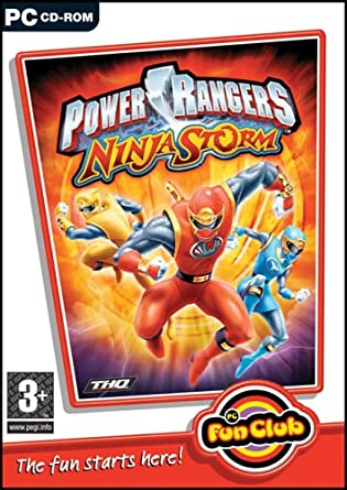 Amazon.com: power rangers ninja storm (PC) (UK): Software