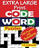 EXTRA LARGE Print CODEWORD Puzzles: Volume 1