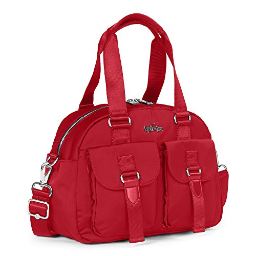 Candied Bag Defea Crossbody Shoulder Kipling Handbag Red 46qwvxXn