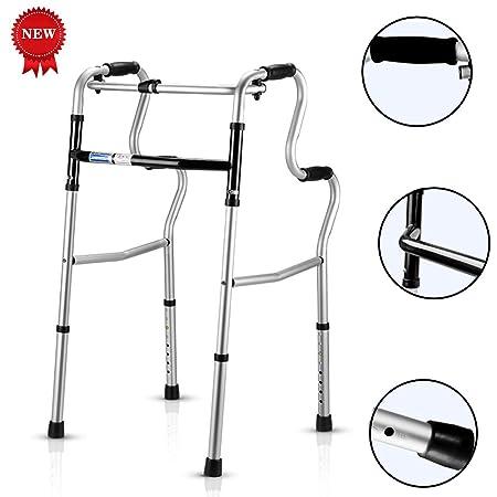 WYQWAN Andador para Adultos Caminante Anciano Puede Sentarse ...