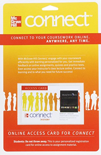 Connect History One Term Access Card for Traditions & Encounters (180 Days Access)