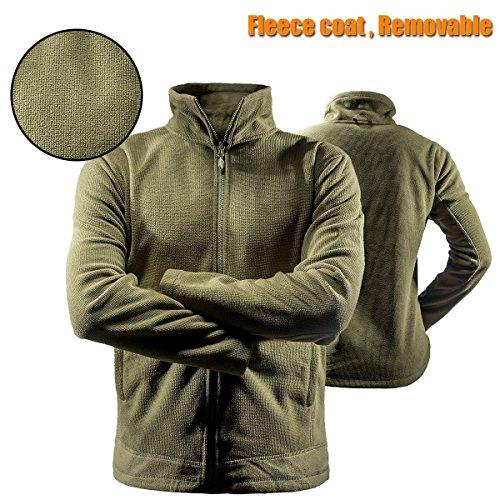 Impermeabile 3 Con Uomo Soldier Interno Nbsp;giacca Free Tattico Da f5vqp
