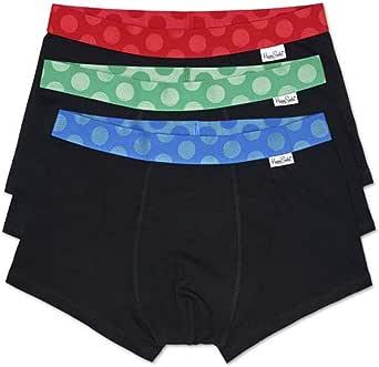 Happy Socks Bañador (Pack de 3) Unisex Adulto
