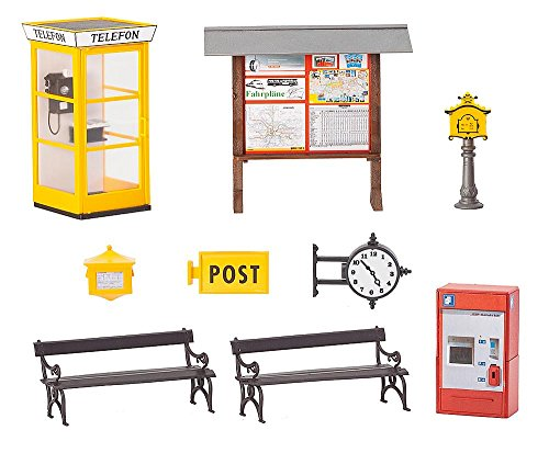 POLA 331745 Train Station Accessories G Scale Building Kit