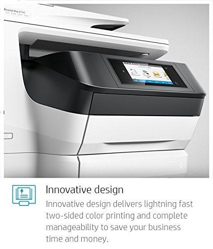 Large Product Image of HP OfficeJet Pro 8740 All-in-One Wireless Printer with Mobile Printing, Instant Ink ready (K7S42A)