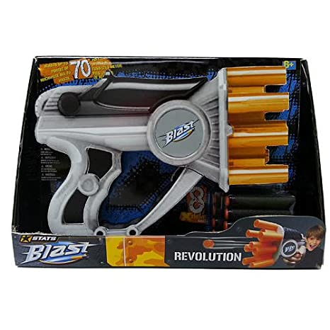 Amazon Com Stats Blast Air Zone Revolution Blaster Toys R Us