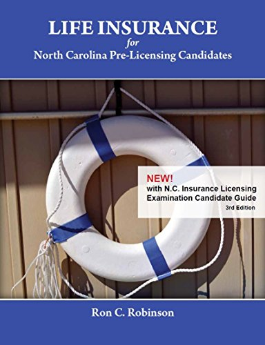 Download Life Insurance for NC Pre-Licensing Candidates, 3rd Edition Pdf