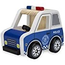 Wooden Wheels Natural Beech Wood Police Cruiser by Imagination Generation