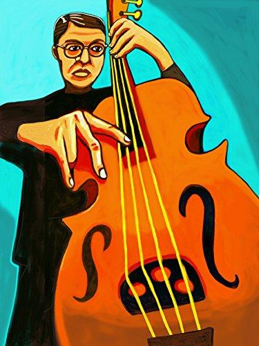 CHARLIE HADEN PRINT POSTER man cave cd lp record album vinyl stand up double bass quartet west always say goodbye keith jarrett pat metheny