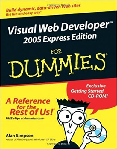 Visual Web Developer 2005 Express Edition For Dummies (For Dummies (Computers)) by Alan Simpson (2005-12-12)