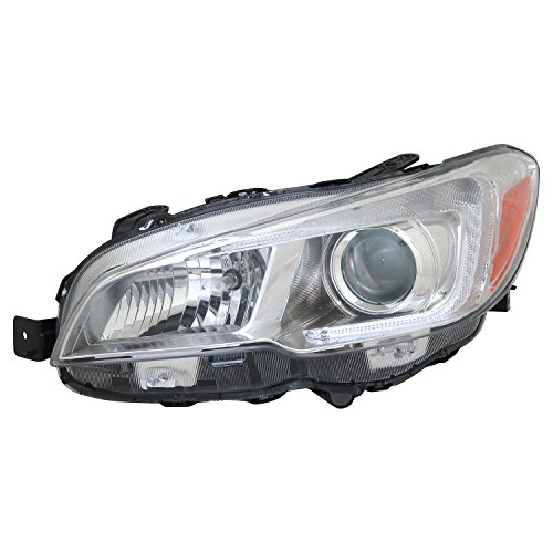 TYC 20-9614-00-1 Replacement left Head Lamp (SUBARU WRX), 1 Pack