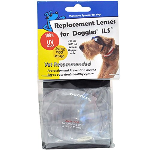Doggles ILS Replacement Lens, X-Small, Clear by Doggles