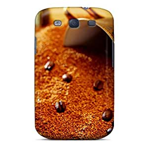 Premium Freeze Dried Coffee Back Cover Snap On Case For Galaxy S3