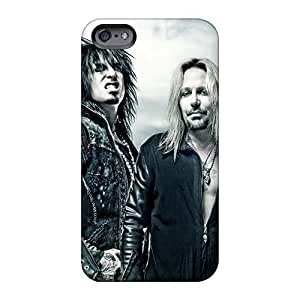 Vvicky Case Cover Protector Specially Made For Iphone 6 Motley Crue Band