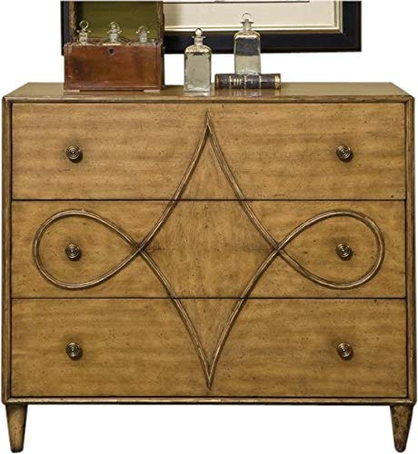 EuroLuxHome Chest of Drawers Jules LELEU Round Tapered Legs Villa Mahogany Gilded - Round Tapered Mahogany