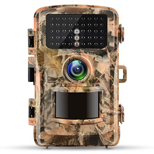 Campark Trail Camera 12MP 1080P 2.4'' LCD Game Camera Motion Activated Wildlife Hunting Cam IR LEDs Night Vision up to 75ft/23m IP56 Waterproof (New Version) by Campark