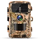 Campark Trail Camera 12MP 1080P 2.4 LCD Game Camera Motion Activated Wildlife Hunting Cam IR LEDs Night Vision up to 75ft/23m IP56 Waterproof (New Version)