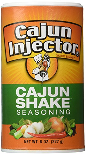 Cajun Injector Shake Seasoning 8oz Canister (Pack of 3) Quick Shake (Deep Fried Turkey Injector)