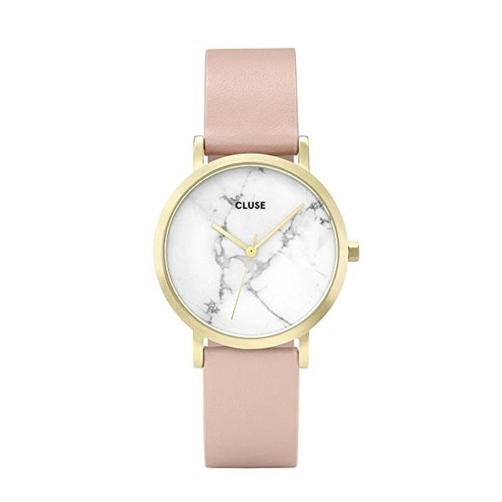 ... Petite Gold Dalmatian Black CL40105 Womens Watch 33mm Leather Strap Minimalistic Design Casual Dress Japanese Quartz Elegant Timepiece: Cluse: Watches