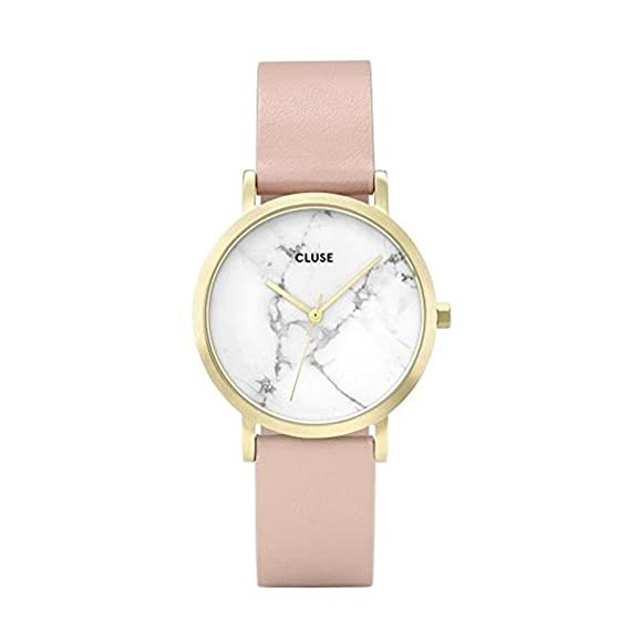 CLUSE Reloj Analógico para Mujer de Cuarzo con Correa en Cuero CL40101: Cluse: Amazon.es: Relojes