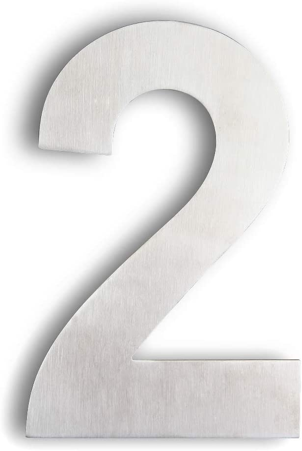 Floating House Number 23 Sizes /& 16 Colours availableFREE Shipping