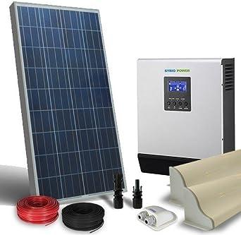 Solar Kit Camper 150W 12V Lux Panel Inversor 1200W 12V ...