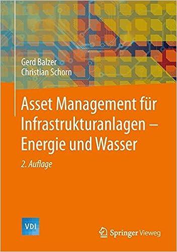 Asset Management für Infrastrukturanlagen - Energie und Wasser (VDI-Buch) (German Edition)