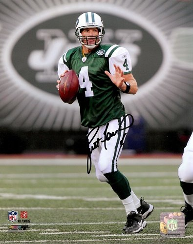 Brett Favre Autographed New York Jets 16x20 Photo