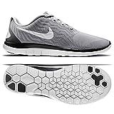 Nike Free 4.0 717988 010 Wolf Grey/White/Black Men's Running Shoes (15)