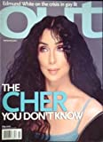 img - for Out Magazine - The Cher You Don't Know (May 2002) book / textbook / text book