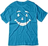BSW Men's Kool-Aid Man Smiley Face Oh Yeah! Juice Shirt SM Sapphire