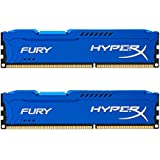 Kingston HyperX FURY 8GB Kit (2x4GB) 1600MHz DDR3 CL10 DIMM - Blue (HX316C10FK2/8)