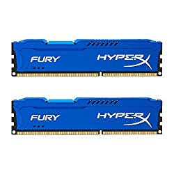 Kingston Hyperx Fury 16gb Kit (2x8gb) 1600mhz Ddr3 Cl10 Dimm - Blue (Hx316c10fk216)