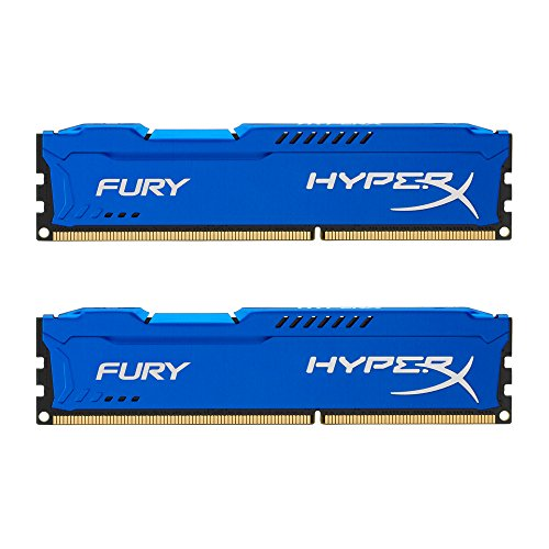 Kingston HyperX FURY 8GB Kit  1866MHz DDR3 CL10 DIMM - Blue