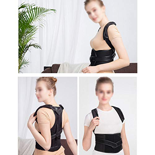 WYNZYHY Medical Belt, Lumbar Disc Lumbar Muscle Strain Male and Female Medical Posture Correction Clothing Hunchback Correction (Color : Aluminum Clause, Size : L) by WYNZYHY (Image #3)