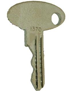 Disen parts 83353 Ignition Keys R30074 B17575 5PCS Fits For New Holland Case IH John Deere Massey Ferguson Terramite Industrial Models T6 T9 T5C 1020 1520
